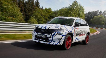 Skoda Kodiaq RS: el SUV de 7 plazas más rápido