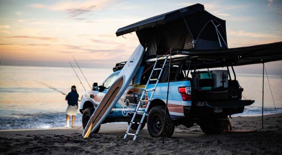 Nissan XD Titan Surfcamp