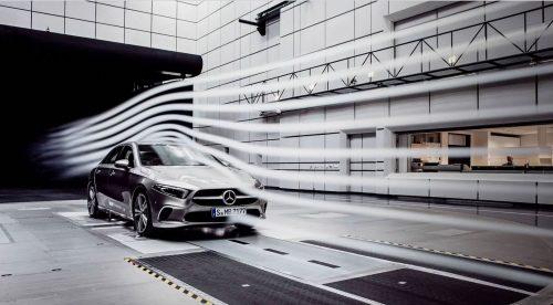 El Mercedes Clase A sedán será el coche más aerodinámico del mercado