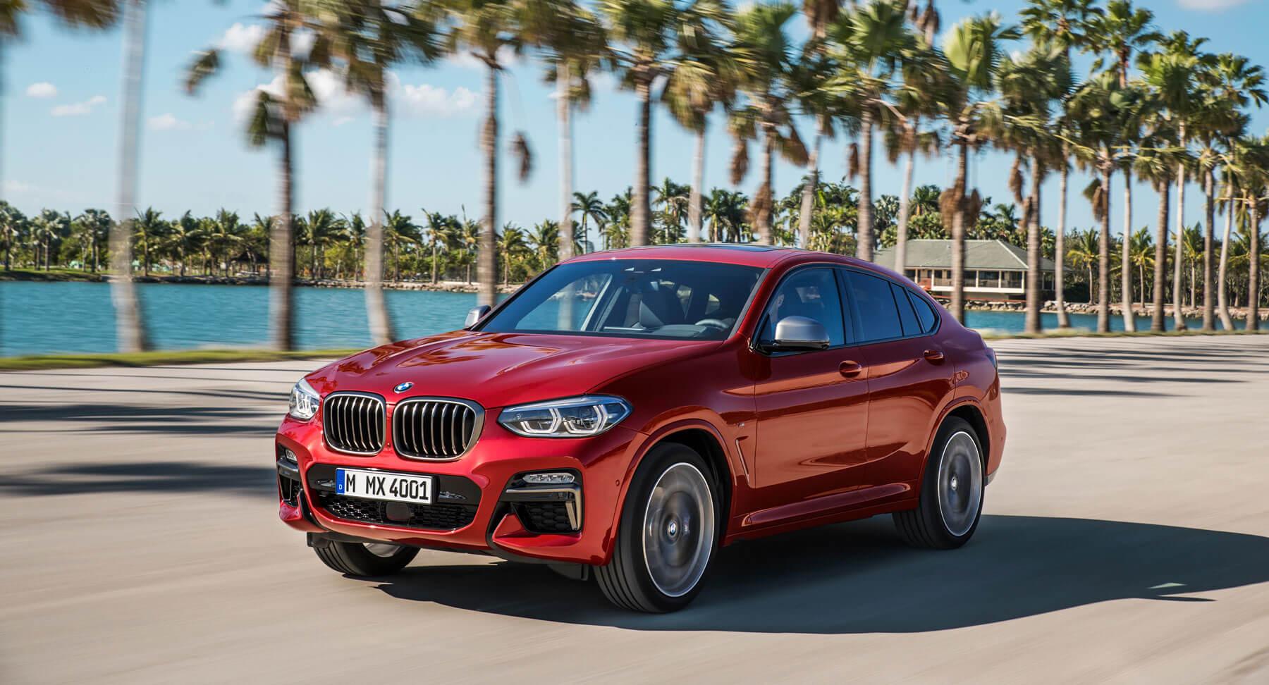 El BMW X4 2018 acentúa la línea cupé