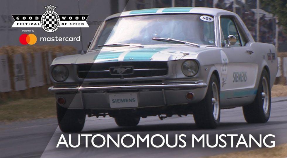 coche autonomo goodwood