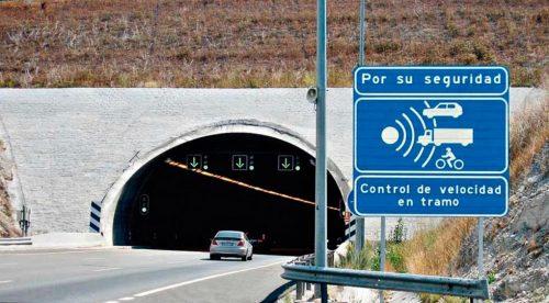Estos son los 50 radares de tramo que funcionan en España