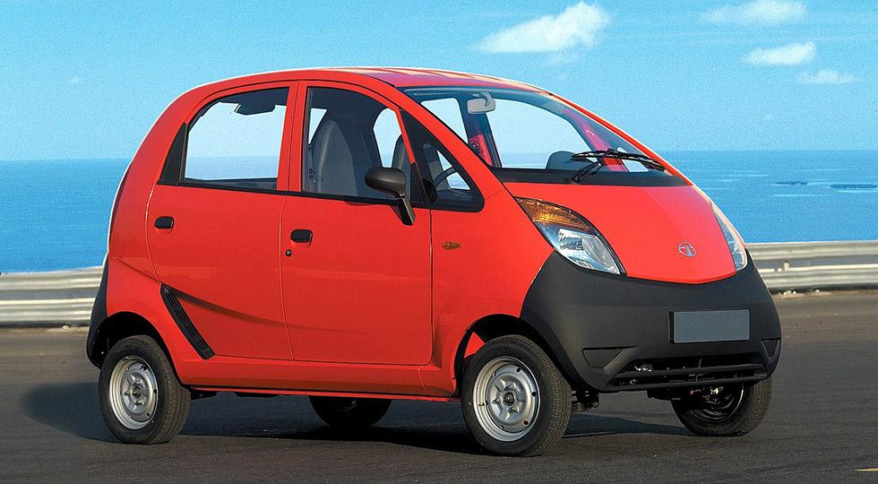 coche mas barato Tata Motors