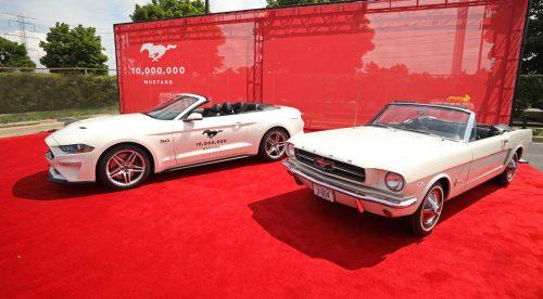 Ford fabrica el Mustang diez millones