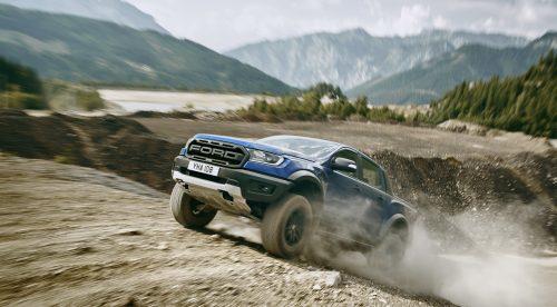 El poderío americano del Ford Ranger Raptor llega a Europa
