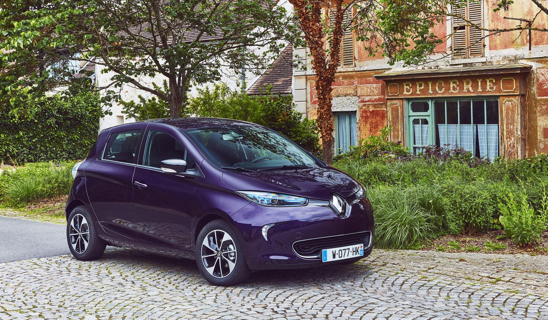 El Renault Zoe estrena motor de 110 CV y color de carrocería