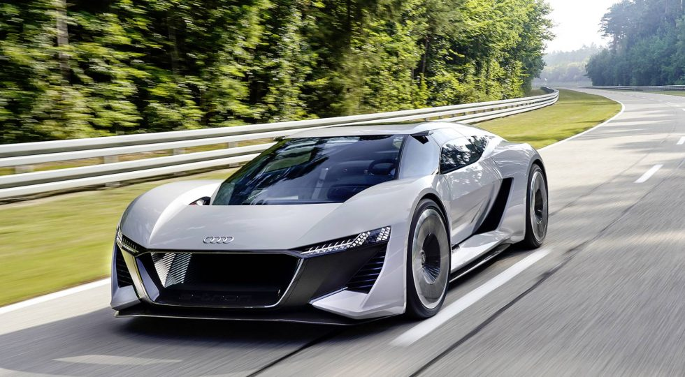 Audi PB18 E Tron Concept