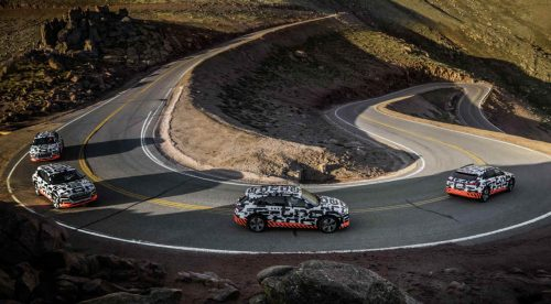 El Audi e-Tron gana un 30% de autonomía gracias a las frenadas