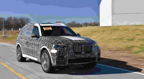 El nuevo BMW X7 se pone a prueba en condiciones extremas