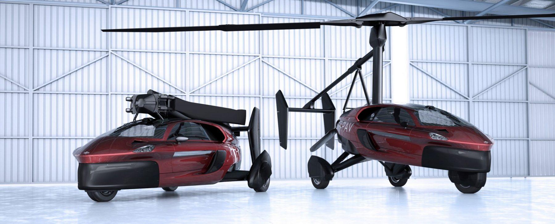 coche volador PAL V Liberty