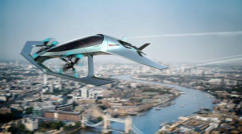 Aston Martin Volante Vision Concept: un coche volador de lujo