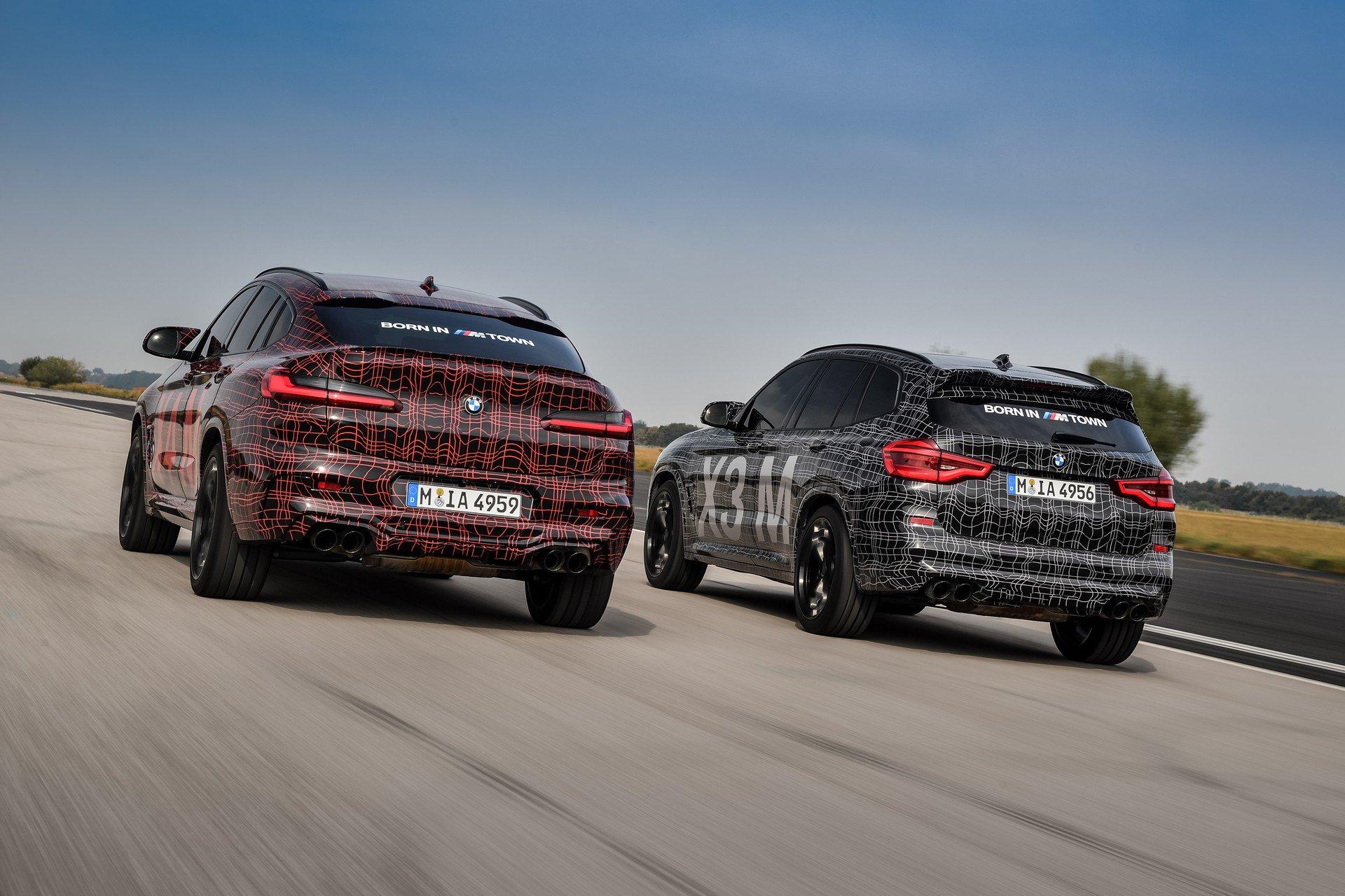 Las imágenes de los BMW X3 M y X4 M