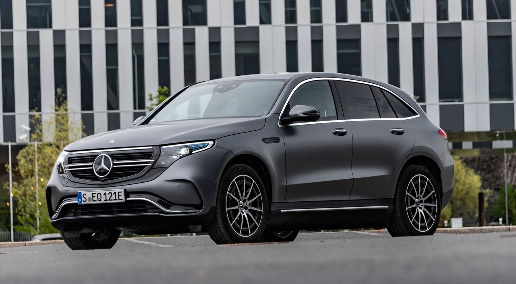Las imágenes del Mercedes EQC