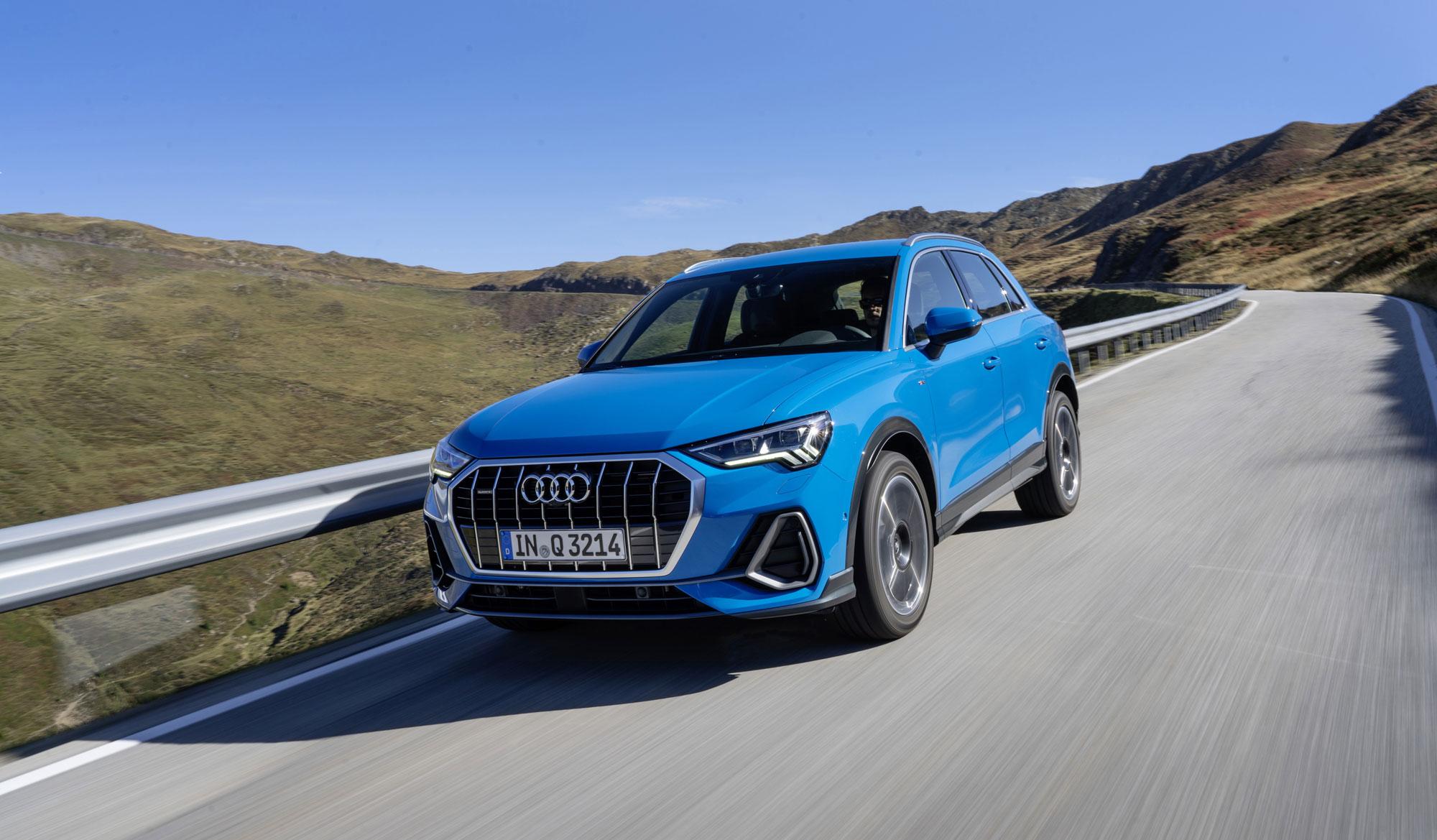 La seductora imagen del nuevo Audi Q3
