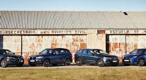 Comparativa: ¿cuál es el mejor SUV premium de tamaño compacto?