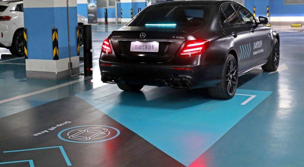 aparcamiento Mercedes