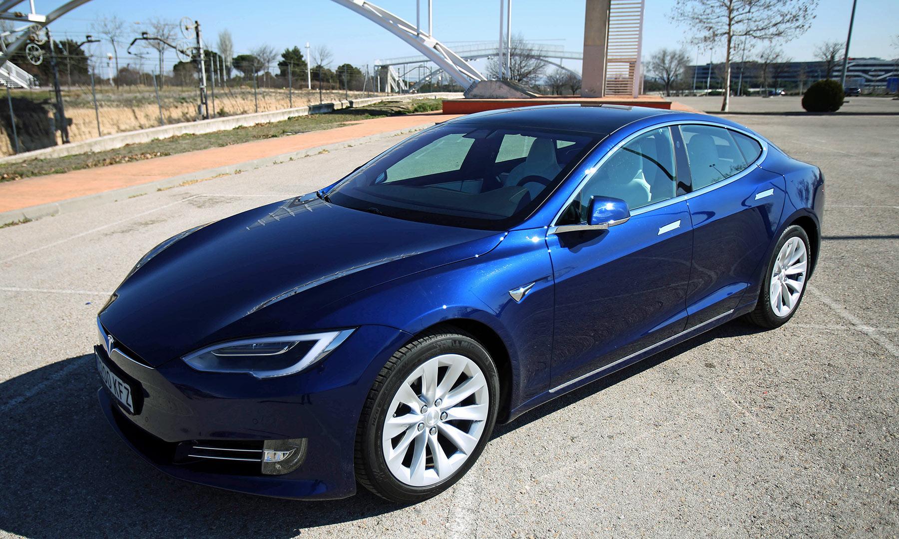 Todos los detalles del Tesla Model S