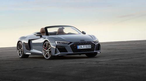 El Audi R8 ahora es incluso más potente y llega hasta los 620 CV