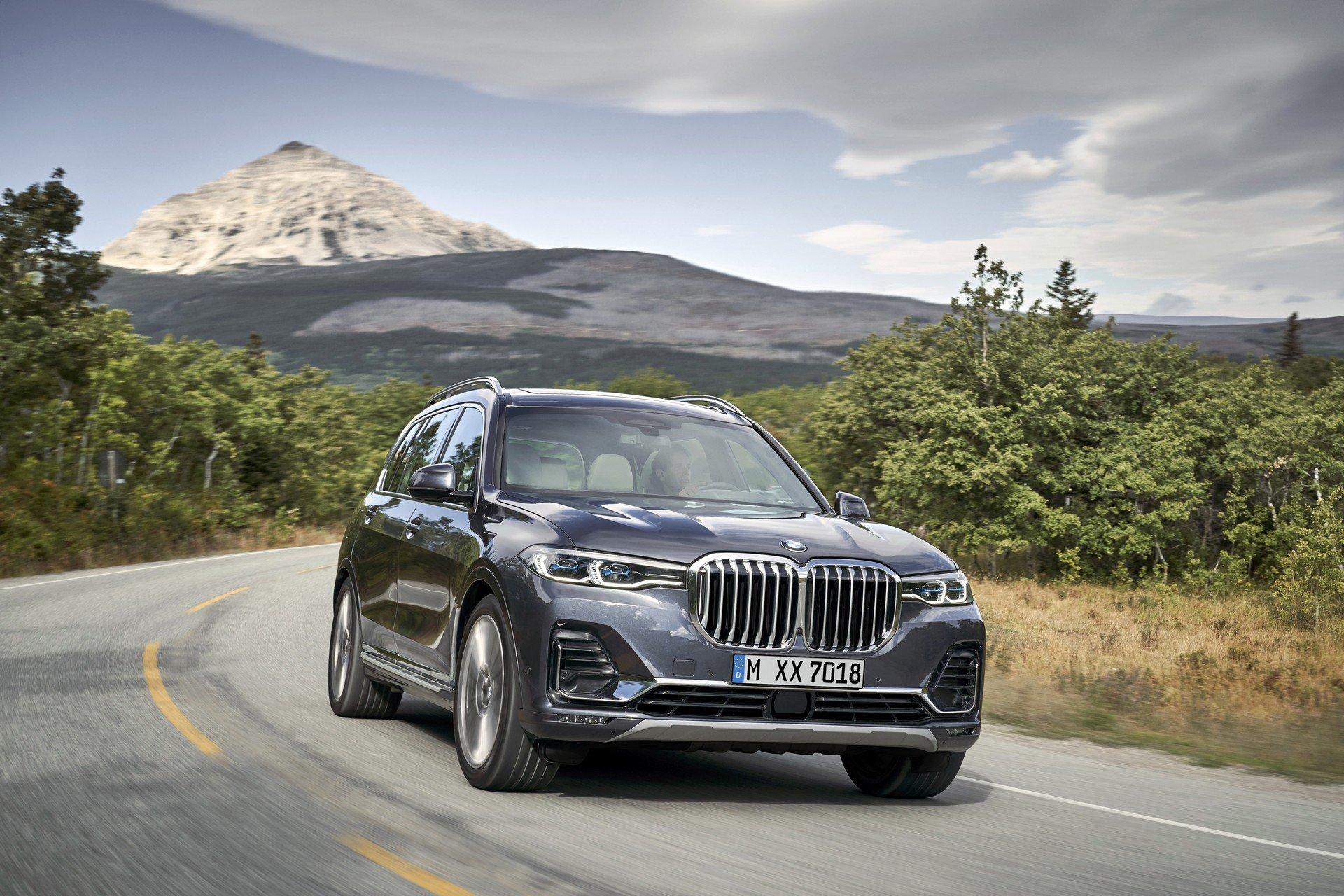 Las imágenes del BMW X7