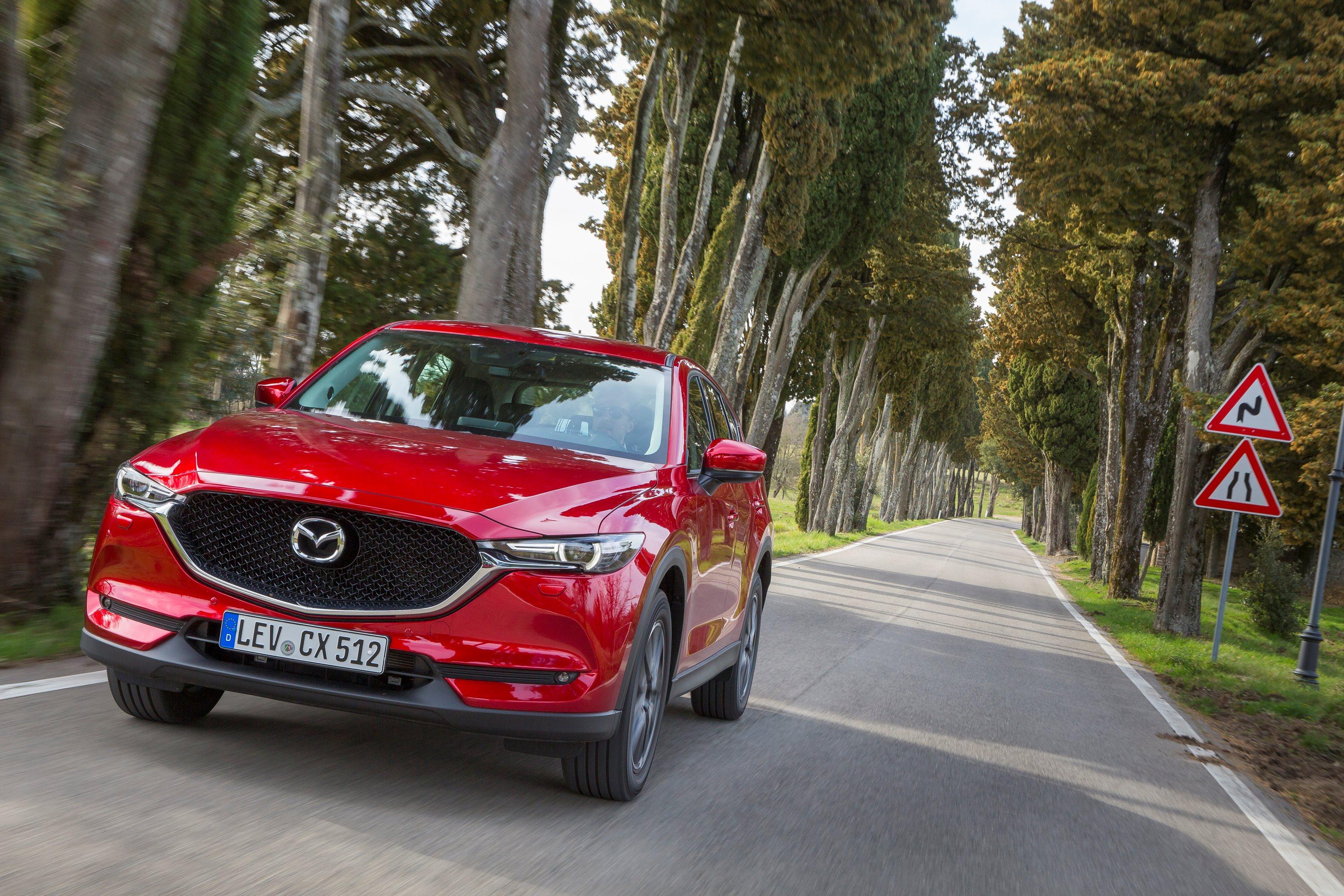 Toda la tecnología del nuevo Mazda CX-5