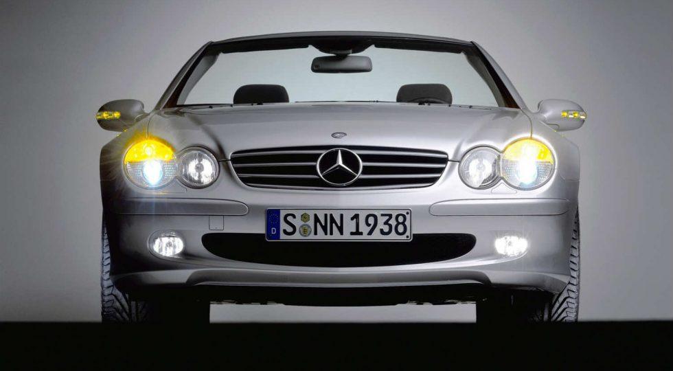 Mercedes SL 2001