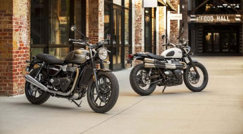 Triumph mejora sus ya populares Street Twin y Street Scrambler