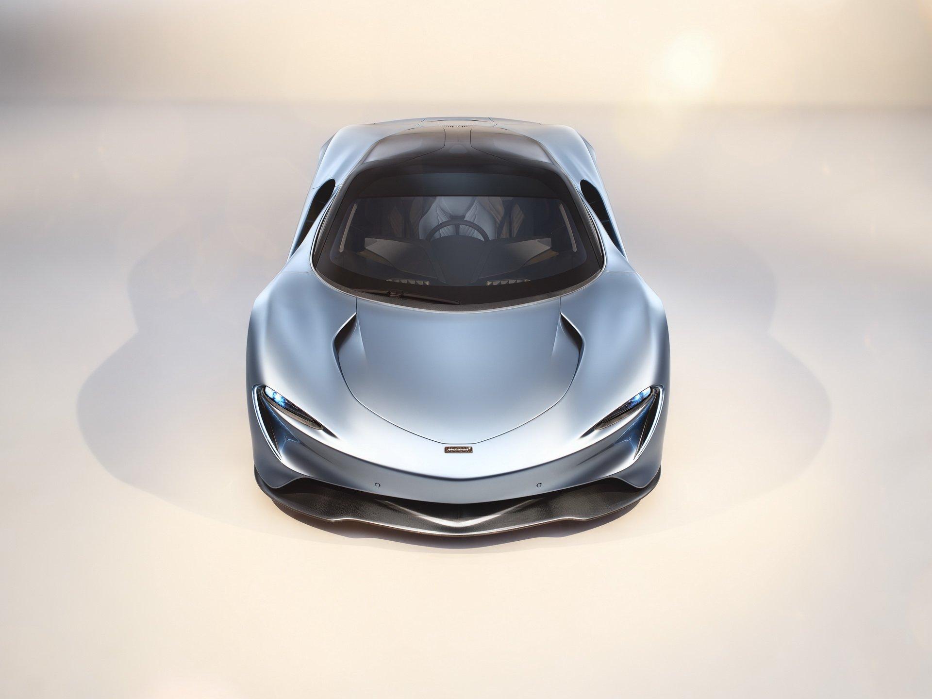 Las imágenes del espectacular McLaren Speedtail