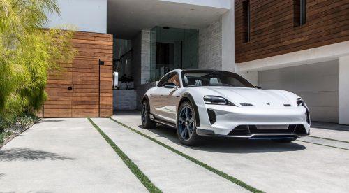 Porsche Mission E Cross Turismo: 600 CV para el segundo eléctrico de la marca