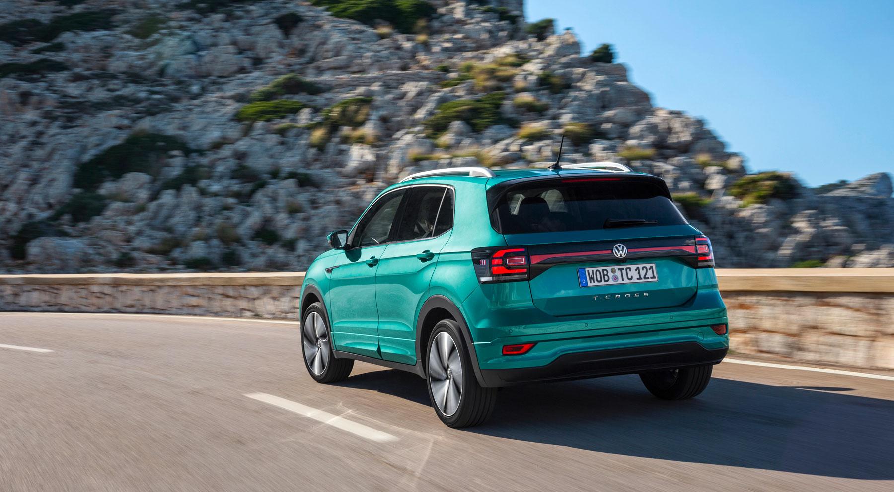 Las imágenes del nuevo Volkswagen T-Cross