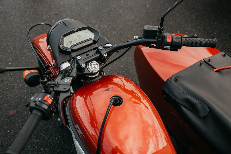 Ural E Project moto electrica
