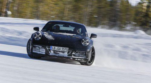 Así pone Porsche a prueba al nuevo 911