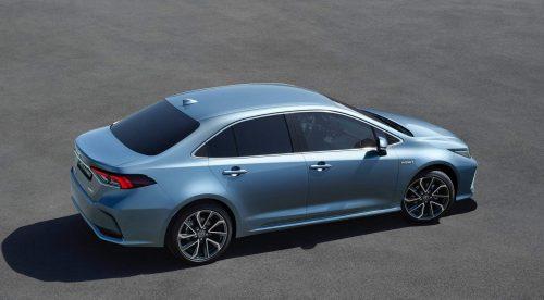 El Toyota Corolla también llegará a España con carrocería sedán