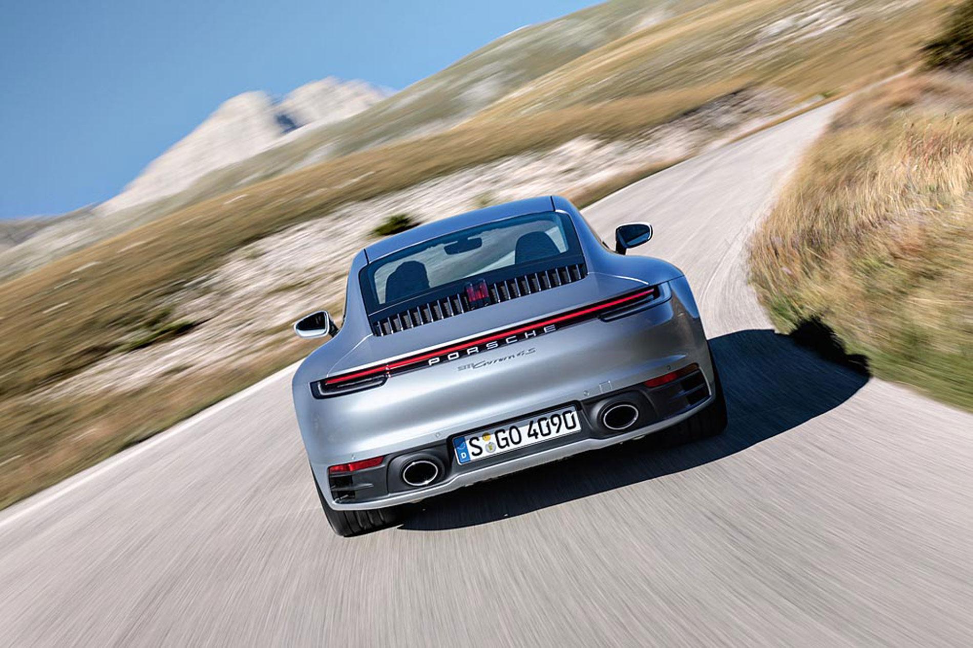 Las imágenes del nuevo Porsche 911