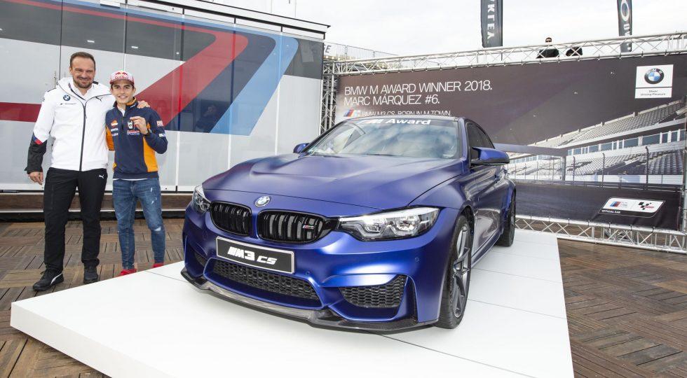 2018: BMW M3 CS