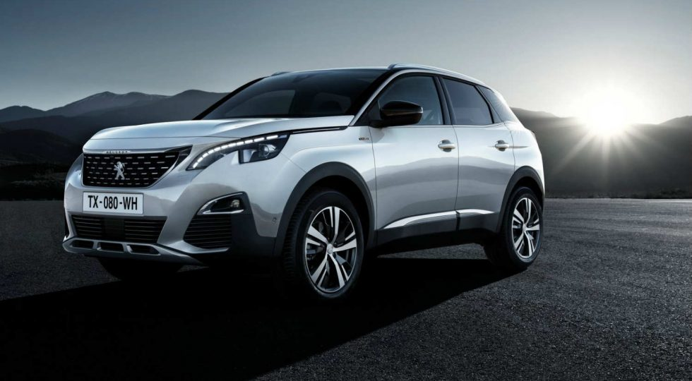Peugeot 3008 gasolina: 25.550 euros