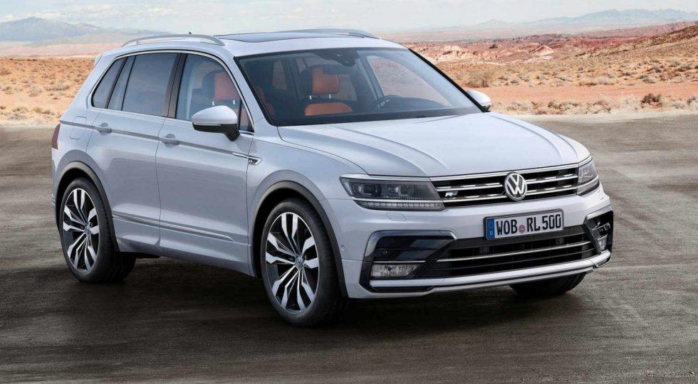 Volkswagen Tiguan gasolina: 33.065 euros