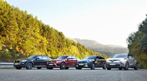 Comparativa: cuatro SUV innovadores, mestizos y sorprendentes