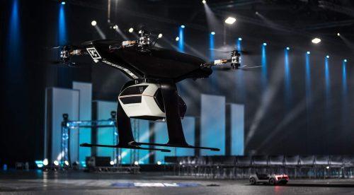 Así es el prototipo de taxi volador de Audi