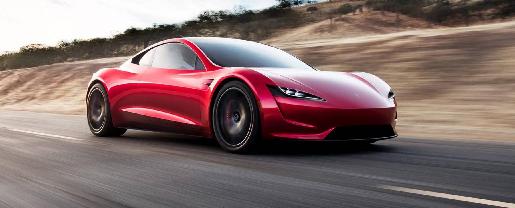 2. Tesla Roadster: 1,9 segundos