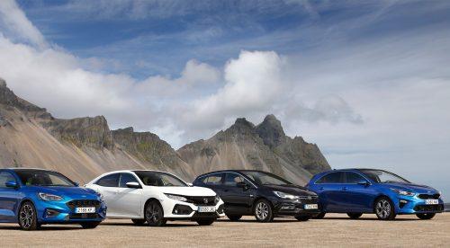 Comparativa: cuatro compactos que pueden resistir al empuje de los SUV