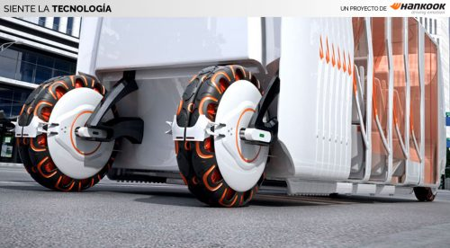 El neumático del futuro hará cosas que no podrías imaginar
