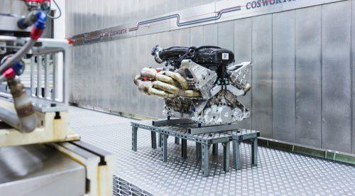 El corazón de 1.000 CV del Aston Martin Valkyrie