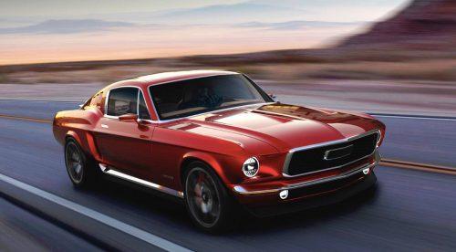 Parece un Mustang clásico, pero es un eléctrico ruso