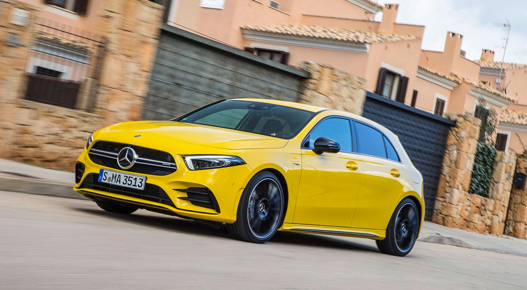 El nuevo Mercedes Clase A 35 AMG, por dentro y por fuera