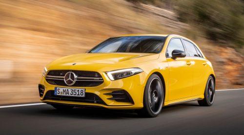 La deportividad fácil del nuevo Mercedes Clase A 35 AMG