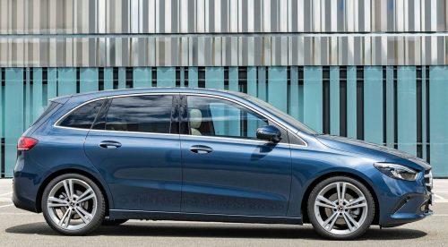 Mercedes Clase B: línea más afinada e interior mejor acabado