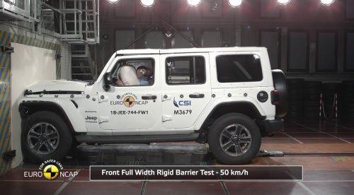 El nuevo Jeep Wrangler recibe un duro varapalo por su seguridad