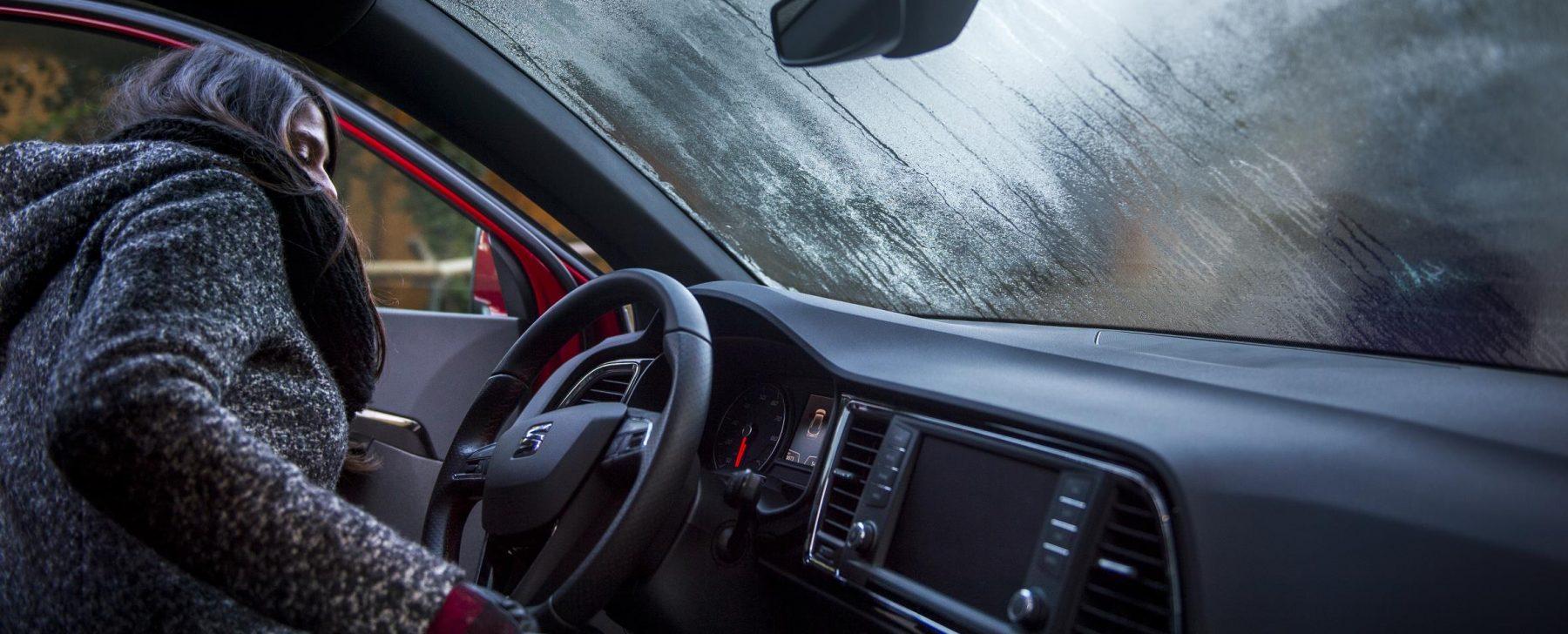 Trucos para conducir con frío