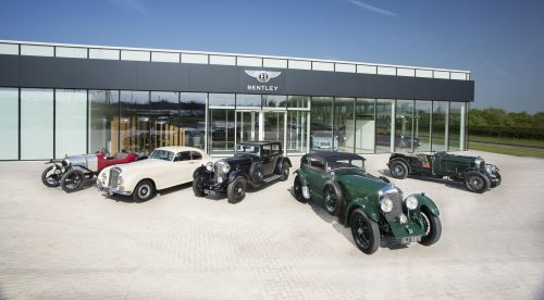 Bentley: 100 años de lujo, deportividad y pasión