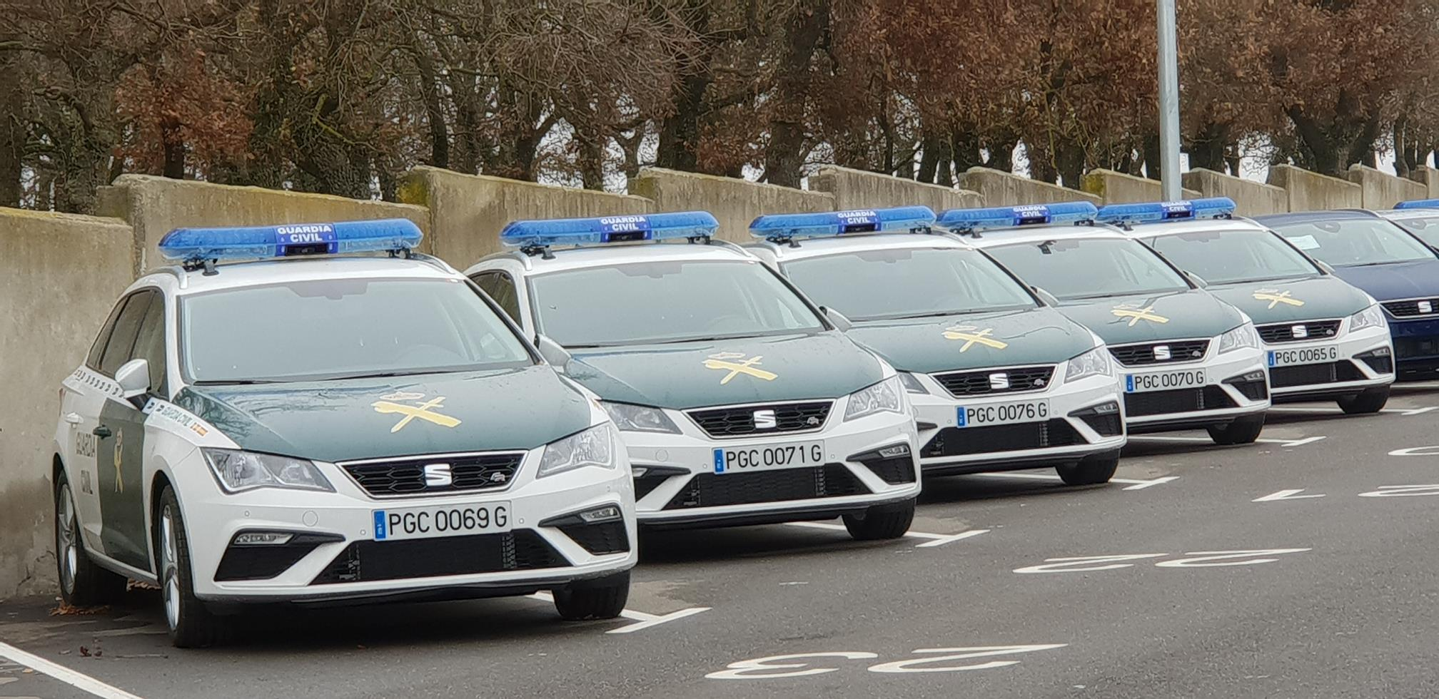Seat León Guardia Civil